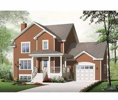 ☆Eplans Country House Plan - Three Bedroom Country Home - 1724 Square Feet and 3 Bedrooms(s) from Eplans - House Plan Code HWEPL75522