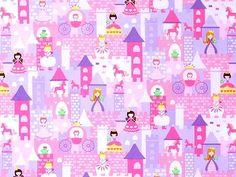 Timeless Treasures - Gail Cadden 'Mini Fairy Tale' Bildgröße 40 cm x 30 cm ki-136-09-8093