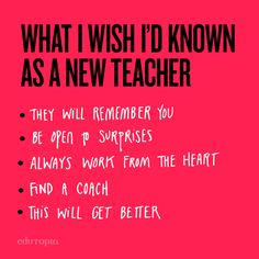 Absolutely love this advice from veteran teachers to rookie teachers. Every teacher has their own first year mishaps, achievements, and surprises - it will get better. First Year Teachers, New Teachers, Elementary Teacher, Teacher Quotes, Teacher Hacks, Classroom Routines, Classroom Ideas, High School Principal, Student Teaching