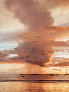 Rose Gold Rain sunset print by Samba to the Sea at The Sunset Shop. Image is a rain shower passing over the horizon during a rose gold sunset in Tamarindo, Costa Rica. Rose Gold Aesthetic, Orange Aesthetic, Nature Aesthetic, Aesthetic Colors, Aesthetic Images, Aesthetic Backgrounds, Aesthetic Photo, Aesthetic Wallpapers, Photography Aesthetic