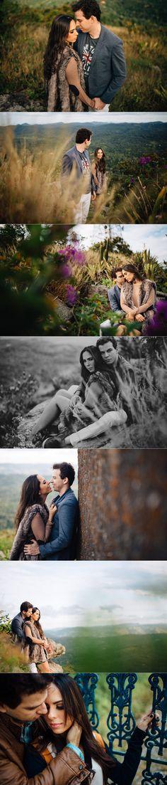 e-session em Guaramiranga-CE. Fotos de Casal na Serra. Ensaio de casal por Arthur Rosa.