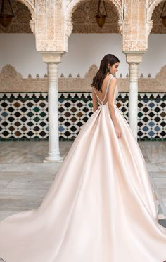 Naviblue Bridal 2018 Wedding Dresses – Dolly Bridal Collection – I Take You Pink Wedding Gowns, Gorgeous Wedding Dress, Glamorous Wedding, Cheap Wedding Dress, Bridal Dresses, Groom Dress, Bridal Collection, Marie, Weddings