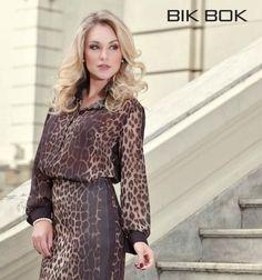 Estampa de onça continua reinando a tendencia #outonoinverno #bikbok #missbikbok #winter2014