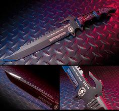 Dark Ops Interceptor E Tactical Fixed Blade Knife.