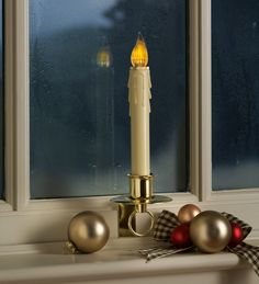 87 Best Candles in the window! images | Window candles ...