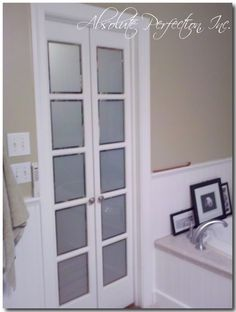 Delighful Interior French Doors Opaque Glass And More On Bathroom By Randysrs Pane A Throughout Decorating