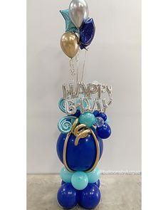 No hay descripción de la foto disponible. Birthday Balloon Decorations, Balloon Crafts, Balloon Gift, Balloon Garland, Birthday Balloons, Send Balloons, Balloons And More, Number Balloons, Balloon Arrangements
