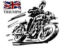 Logo Triumph 1907-1914 Download Vector dan Gambar