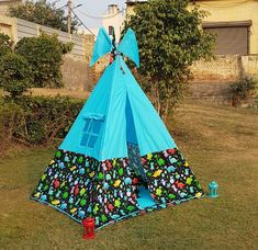 Kids Camping Tent, Kids Teepee Tent, Play Tents, Dinosaur Birthday Party, Birthday Party Themes, Tent House For Kids, Teepee Party, The Good Dinosaur, Kids Room