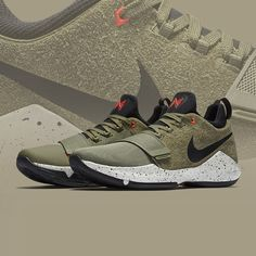 Standout style for the summer season. The Nike PG 1 'Elements'. Ankle Sneakers, Slip On Sneakers, Leather Sneakers, Ladies Sneakers, Sneakers Nike, Most Popular Shoes, Mens Fashion Shoes, Women's Fashion, Plimsolls
