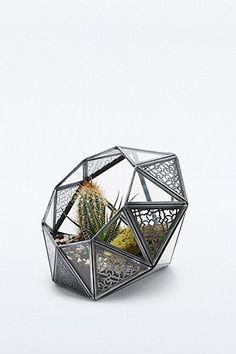 Urban Grow – Rautenförmiges Terrarium mit Spitzendesign - Urban Outfitters
