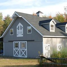 The Denali 36' Gable Barn - Save $7,000 - Full second story hayloft, gable dormers, attached shed roof, all wood barn - Special Ends Oct. 15, 2013 @Barn Pros