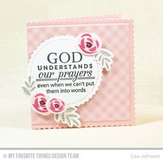 Mini Modern Blooms, Words of Wisdom, Mini Modern Blooms Die-namics, Stitched Mini Scallop Circle STAX Die-namics, Stitched Mini Scallop Square STAX Die-namics - Lisa Johnson Scripture Cards, Prayer Cards, Bible Verses, Get Well Prayers, Scrapbook Expo, Lisa Johnson, Christian Cards, Mft Stamps, Creative Cards