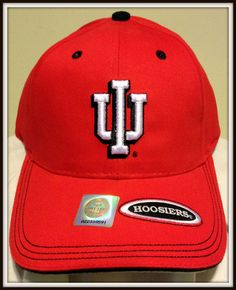 VINTAGE 1995 INDIANA HOOSIER ADULT UNISEX JOE T'S CAP BY THE GAME FREE SHIPPING #THEGAME #Indiana