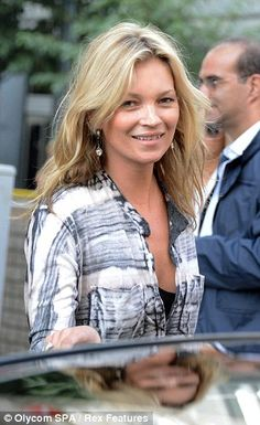 Kate Moss (left) has moved Nikolai von Bismarck (right) into the basement of her London ho...