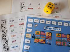 Kijkje in groep 3 – tips voor het vormgeven van je leescircuit Circuit, Bingo, Spelling, School, Schools, Games