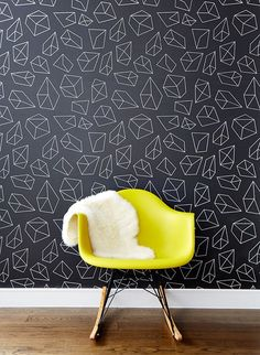 Chasing Paper Doodad Removable Wallpaper | Wall papers, Apartments ...