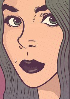 Ilustradora brasileira Mariana Andrade - The Mad Mari;