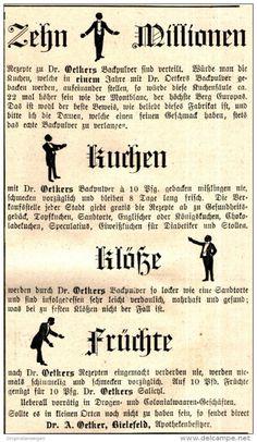 Original-Werbung/ Anzeige 1897 - DR. OETKER - BIELEFELD - ca. 90 x 160 mm