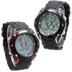 DW437A Chronograph Alarm Black Bezel waterdicht 100% Tested3ATM Digital Watch
