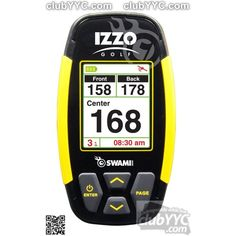 IZZO Swami 4000 golf gps unit, for extremely accurate distance reads from anywhere on the green.Vibrant color display with over preloaded golf courses. Cyber Monday, Dallas Golf, Brand Name Watches, Gps Watches, Sport Watches, Golf Apps, Golf Pride Grips, Gps Tracking, Tracking Devices