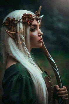 Cosplay Elf, Elf Costume, Easy Halloween Costumes, Cosplay Dress, Halloween Makeup, Fairy Cosplay, Fairy Costumes, Costume Ideas, Halloween Fairy