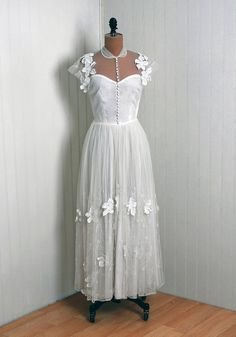 illusion gown