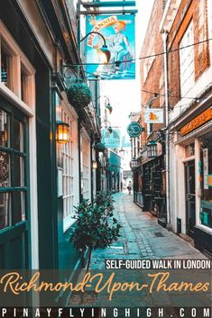 Richmond Self-Guided Walk, London, England | Self-Guided Walk in London | Things to Do in London | London