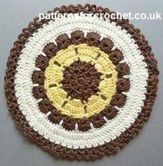 Free fancy doily crochet pattern http://www.patternsforcrochet.co.uk/fancy-doily-usa.html #patternsforcrochet