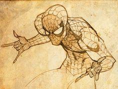 Get em Spidey! Marvel Comic Universe, Marvel Comics Art, Marvel Comic Books, Comic Book Characters, Marvel Characters, Comic Books Art, Comic Art, Spiderman Marvel, Marvel Heroes