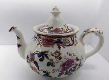 Masons Blue Mandalay Large Tea Pot . C.1960-79