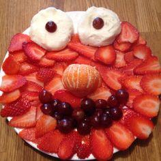 Elmo snack...