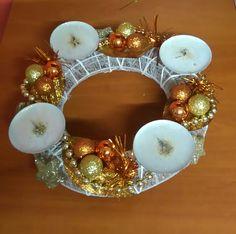 Ornament Wreath, Ornaments, Wreaths, Home Decor, Decoration Home, Door Wreaths, Room Decor, Christmas Decorations, Deco Mesh Wreaths