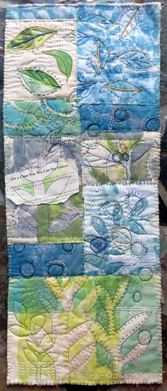 Jane LaFazio - On a Clear Day ~ art quilt