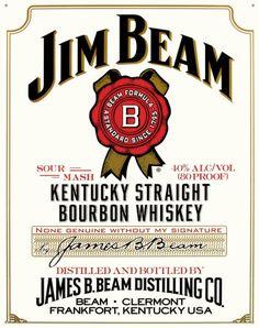 Jim Beam Kentucky Straight #Bourbon #Whiskey #Review