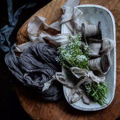 Silk & Willow. SAND silk Sari Ribbon