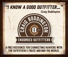 http://craigboddington.com/endorsed-outfitters/what-are-endorsed-outfitters