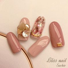 Wedding Nail Art Designs For Brides Japanese Nail Design, Japanese Nails, Japan Nail Art, Korea Nail, Henna Nails, Elegant Nail Art, Summer Toe Nails, Kawaii Nails, New Nail Designs