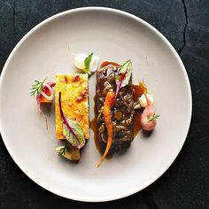 Wagyu Short Rib • Cornbread Pudding • Melted Onions • Hickory Sauce