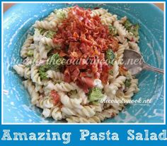 Who doesn't love a good pasta salad? They are usually pretty easy to make and not to mention filling. And let's face it,...