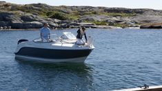 The is a winner of the Motor Boat of the Year Award. Say hello to this sporty, Scandinavian-style boat with trademark Uttern flair. Teak Flooring, Hydraulic Steering, Navigation Lights, Below Deck, Water Management, Technical Drawing, Motor Boats, Scandinavian Style, Sport