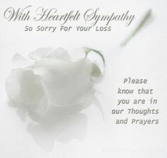 Condolence Messages  Condolences Grief And Poker Quotes