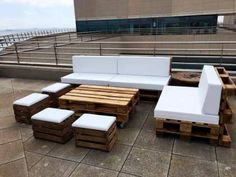 Gorgeous Pallet Outdoor Furniture Set