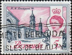 Bermuda 1962 SG 167 Dockyard Fine Used SG 167 Scott 179 Other British Commonwealth Empire and Colonial stamps Here