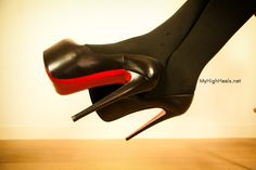 louboutins platform high heels shoes