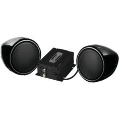 Soundstorm Motorcycle And Utv Speaker & Amp System (without Bluetooth)
