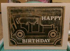 Aged Miss Daisy car card