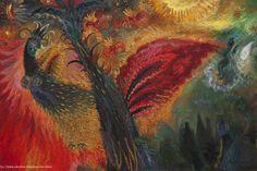Title: Povitrulya Size: 40 x 60 cm Materials: canvas on cardboard / oil Year: 2014 - '15