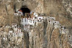10 Mindblowing Buddhist Monasteries in India: Phuktal Monastery, Zanskar