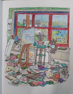 brilliant- Deborah Schweikart- so happy to see Orient show up in the coloring book- BRAVO.
